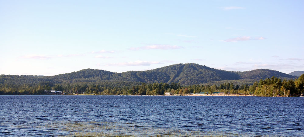 Southern Adirondack Real Estate in the Town of Lake Pleasant & the Lake Lake, Speculator and Oak Mountain are in the background