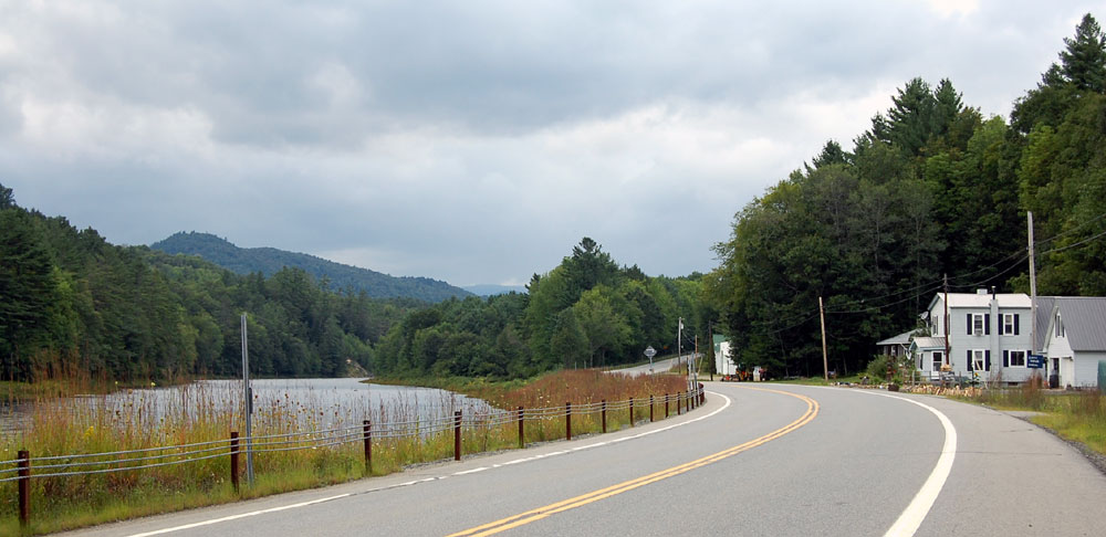 Hope and the Sacandaga River along NY Route 30